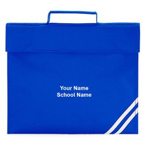 Personalised Classic School Book Bag
